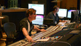 Scoring mixer Alan Meyerson and stage recordist Tim Lauber