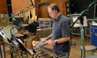 Alan Estes on percussion
