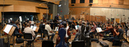 The Hollywood Studio Symphony perform on <i>Ice Age: A Mammoth Christmas</i>