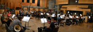 The Hollywood Studio Symphony performs on <i>Ice Age: A Mammoth Christmas</i>
