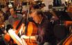 Cellist Steve Erdody makes edits to his part