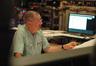 Scoring mixer Shawn Murphy reviews a cue