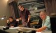 Orchestrator John Ashton Thomas, composer John Powell, and scoring mixer Shawn Murphy