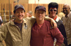 Composer Michael Giacchino, director Brad Bird, and Elvis