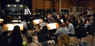 Nick Glennie-Smith conducts the strings