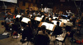 The Hollywood Studio Symphony strings perform on <i>Pirates of the Caribbean: On Stranger Tides</i>