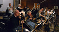 The brass section plays on <i>Pirates of the Caribbean: On Stranger Tides</i>