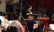 Composer Fil Eisler conducts on <i>Revenge</i>