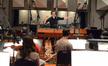 Composer Fil Eisler likes what he hears