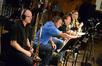 Trombonists Alex Iles, Alan Kaplan, Steve Holtman with tubist Doug Tornquist