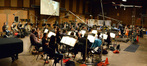 On the MGM Scoring Stage at Sony with composer/conductor Fil Eisler for ABC's <i>Revenge</i>