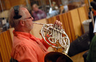 Brad Warnaar on French horn