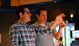 Director J.J. Abrams and composer Michael Giacchino