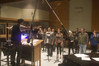 Tim Davis conducting the <i>Teen Wolf</i> Choir