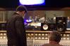 Dino Meneghin at the control board