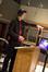 Dino Meneghin conducting the choir