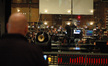 Composer Trevor Morris observes the orchestra as they record <i>Tornado Alley</i>