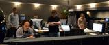Technical score engineer Erick DeVore, composer Steve Jablonsky, scoring mixer Alan Meyerson and arranger Nathan Whitehead