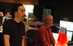 Composer Steve Jablonsky and scoring mixer Jeff Biggers