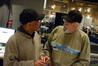 Orchestra contractor Reggie Wilson and scoring mixer Dan Wallin discuss a cue