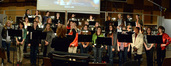 The choir performs on <i>John Carter</i>