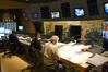 Scoring mixer Frank Wolf, composer Mervyn Warren and orchestrator Brad Dechter
