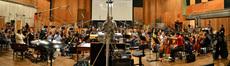 The Hollywood Studio Symphony performs on <i>Joyful Noise</i>