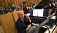 Pianist extraordinaire, Randy Kerber, hoping lunch will be 1 1/2 hours today