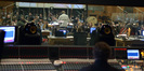 View of the orchestra from the booth