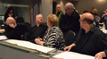 Conductor John Williams, cellist Lynn Harrell, soprano Christine Brewer, scoring mixer Dennis Sands and arranger Randy Kerber