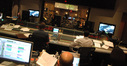 View from the booth at Sony