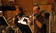 Trombonists Steve Holtman and Alex Iles
