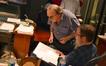 Music supervisor David Franco and music librarian Tim Perrine discuss a cue