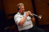Trumpet player David Washburn