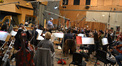 Conductor Pete Anthony and the orchestra record a cue from <i>Epic</i>