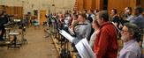 Marc Mann and the choir