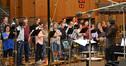 Marc Mann and the choir on <i>Epic</i>