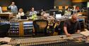 Scoring mixer Dennis Sands helms the console at Fox