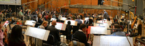 The Hollywood Studio Symphony and conductor Pete Anthony