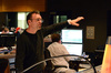 Composer Henry Jackman gives feedback on a cue