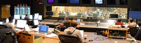 A view of the booth at Fox