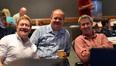 Producer Michael Ewing, editor Bill Kerr, and director Peter Segal