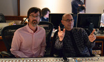 Composer Michael Andrews and orchestra recordist Bruce Botnick