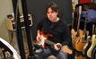 Aaron Kaplan on guitar
