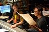 Scoring mixer John Rodd and composer Frederik Wiedmann