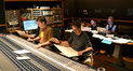 Scoring mixer John Rodd and composer Frederik Wiedmann, music preparer Jeremy Tisser, and orchestra contractor Chris Tedesco