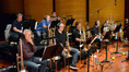 The brass - Trumpets: Dave Washburn, Jon Lewis, and Rick Baptist / Trombones: Bill Booth, Alex Iles, Steve Holtman, and Bill Reichenbach / Tuba: Doug Tornquist