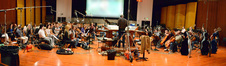 Nick Glennie-Smith and the Hollywood Studio Symphony prepare to record on <i>Kick-Ass 2</i>