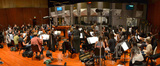 Nick Glennie-Smith conducts the Hollywood Studio Symphony on <i>Kick-Ass 2</i>