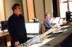 Scoring mixer Greg Townley and scoring recordist Tom Hardisty